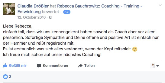 Testimonial Claudia Drößler